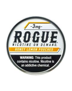 Rogue Honey Lemon 3mg, All White Nicotine Pouches