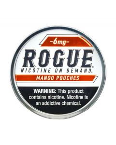 Rogue Mango 6mg, All White Nicotine Pouches