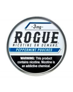Rogue Peppermint 3mg, All White Nicotine Pouches