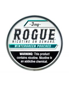 Rogue Wintergreen 3mg, All White Nicotine Pouches