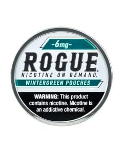 Rogue Peppermint 6mg, All White Nicotine Pouches