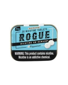 Rogue Peppermint 2mg, Nicotine Tablets