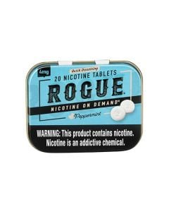 Rogue Peppermint 4mg, Nicotine Tablets