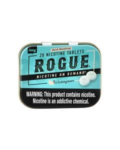 Rogue Wintergreen 4mg, Nicotine Tablets