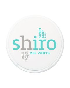 Shiro Sweet Mint Slim All White