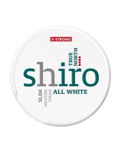 Shiro True North X-Strong Slim All White