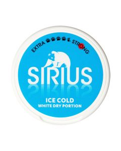 Sirius Ice Cold White Dry Strong Chewing Bags