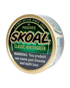 Skoal Wintergreen Pouches