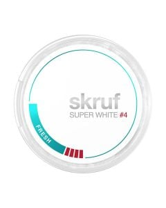 Skruf Super White Slim Fresh Xtra Strong #4