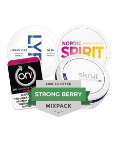 Berry Nicotine Pouches Mixpack, 4-pack