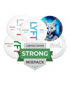 Strong All White Mixpack, 5-pack