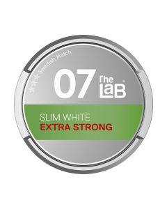 The Lab 07 Extra Strong Slim White Portion Snus
