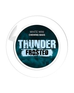 Thunder Frosted Mini White CB