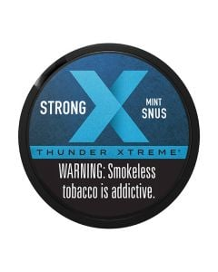Thunder Xtreme Wintergreen Strong Portion Snus