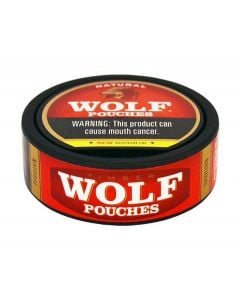 Timber Wolf Natural Pouches