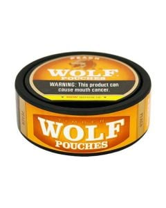 Timber Wolf Peach Pouches