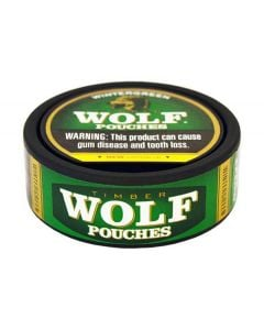 Timber Wolf Wintergreen Pouches