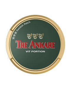 Tre Ankare White Portion Snus