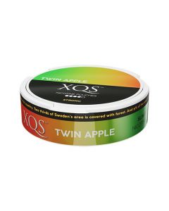 XQS Twin Apple Slim All White Nicotine Pouches