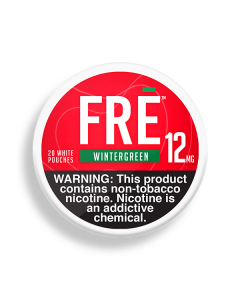 FRE Wintergreen 12MG Nicotine Pouches