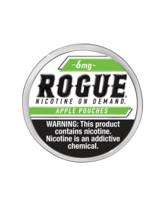 Rogue 6mg Apple Slim Dry Strong Nicotine Pouches