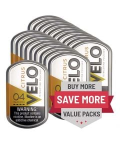 Velo 4mg Mint, 20 can Value Pack