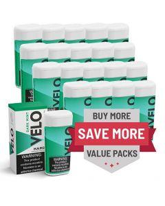 Velo 2mg Mint Hard Lozenges, 20 can Valuepack