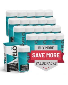 Velo 2mg Berry Hard Lozenges, 20 can Valuepack