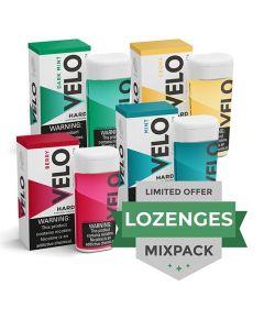 Velo 2mg Dark Mint Hard Lozenges, 20 can Valuepack