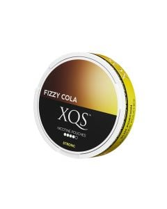 XQS Fizzy Cola Slim Extra Strong Nicotine Pouches