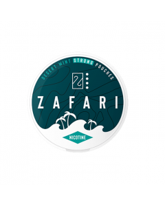 Zafari Desert Mint 10MG Slim Nicotine Pouches