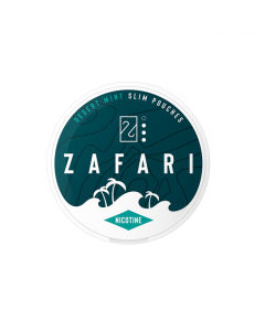 Zafari Desert Mint 4MG Slim Nicotine Pouches