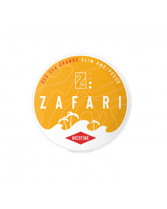 Zafari Red Sea Orange 4MG Slim Nicotine Pouches