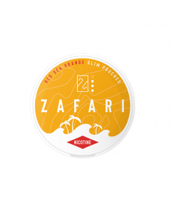 Zafari Red Sea Orange 6MG Slim Nicotine Pouches