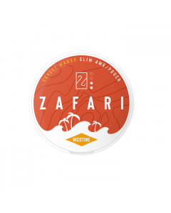 Zafari Sunset Mango 4MG Slim Nicotine Pouches