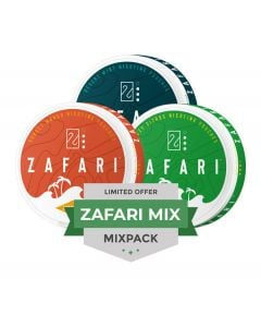 Zafari 6MG Mixpack, 3-pack