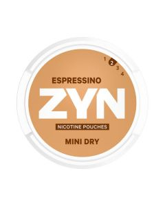 ZYN Mini Espressino All White Nicotine Pouches