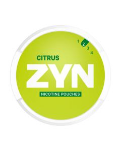 ZYN Citrus All White Nicotine Pouches