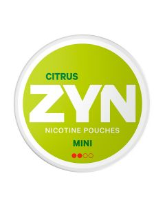 ZYN Mini Citrus White Dry Nicotine Pouches