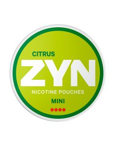 ZYN Mini Citrus Extra Strong All White Nicotine Pouches