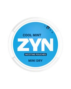 ZYN Cool Mint All White Nicotine Pouches