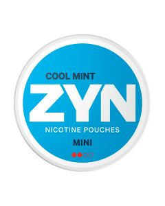 ZYN Mini Cool Mint All White Nicotine Pouches