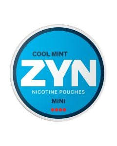 ZYN Mini Cool Mint Extra Strong All White Nicotine Pouches