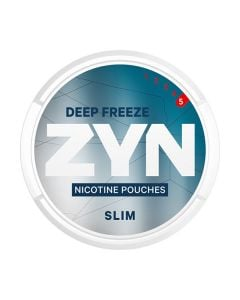 ZYN Deep Freeze Slim, Extra Strong Nicotine Pouches