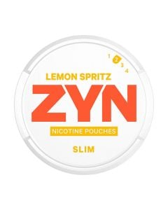 ZYN Lemon Spritz Slim All White Nicotine Pouches