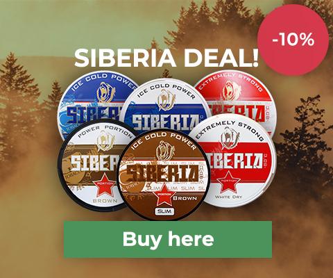 Siberia Swedish Snus