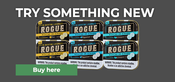 Rogue Nicotine Lozenges