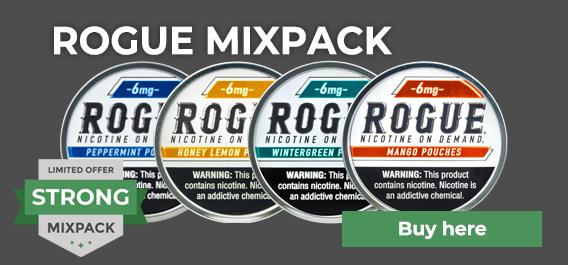 Rogue Nicotine Mixpack