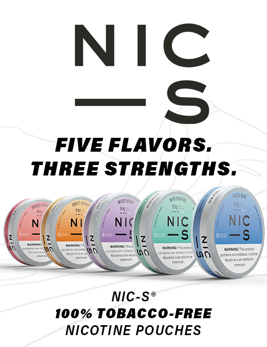 100% Tobacco Free NIC-S