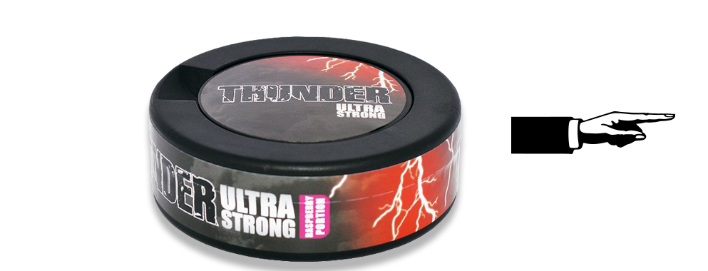 Thunder Ultra Raspberry Portion Snus